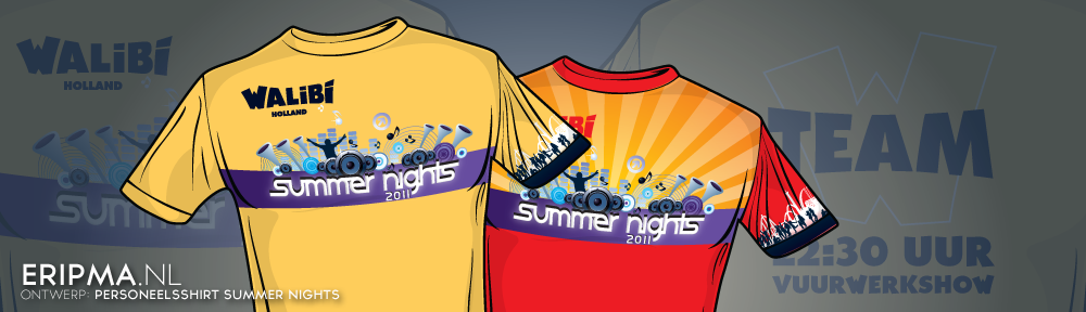 Ontwerp: Shirts Summer Nights